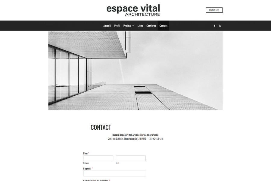 espace vital architecture sherbrooke